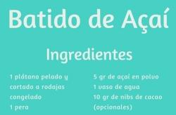 receta, taller, açaí, virginia, quetglas, rincón, nana, escuela, cocina, sustituto, leche, mallorca, naturopatía