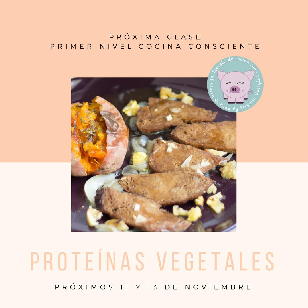 Primer nivel de cocina consciente clase de prote nas for Escuela de cocina mallorca